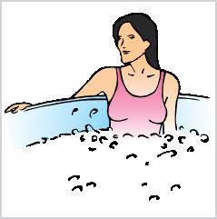 18. Không nên phơi nắng nhiều, nắng nóng có hại cho tĩnh mạch của bạn –  Chúng ta thường thích tắm nắng. Nhưng nắng nóng có hại cho tĩnh mạch của  bạn.